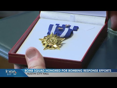 APD's Bomb Squad and SWAT team honored for their work during bombing investigation