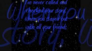 Toby Keith - Wish I Didn't Know Now Lyrics