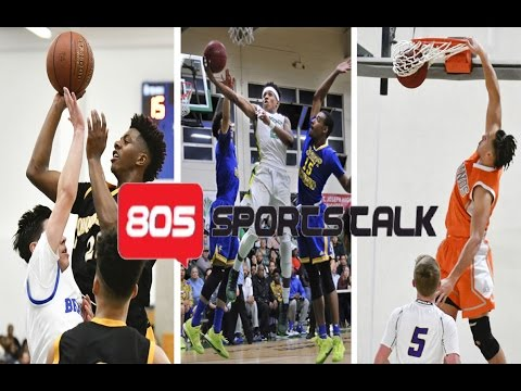805 SportsTalk EP 41 - Who's the best basketball player in the area? Lompoc and Cabrillo battle