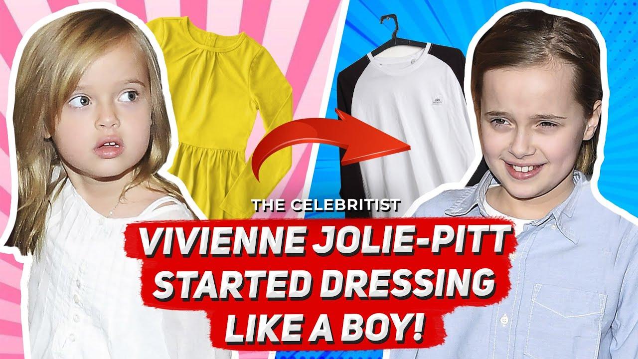 Shiloh dress pitt like a does boy jolie Not John