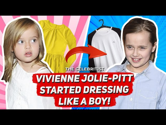 The Real Reason Why Vivienne Jolie-Pitt Started Dressing Like a Boy  The Celebritist