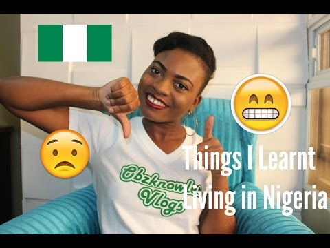 Things I Learnt Living in Nigeria/Lagos