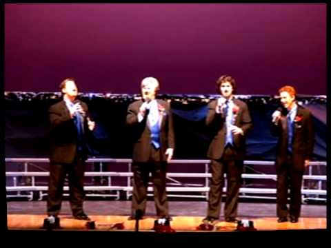 Music Of The Night  - My Three Sons Barbershop Quartet / The Ditchfield Family Singers