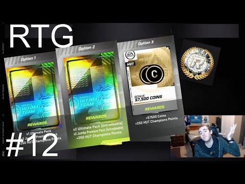 Hut RIVALS REWARDS - NHL 21 Ultimate Team RTG EP 12
