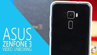 ASUS Zenfone 3 (4GB RAM) - Video Unboxing e Primeiras Impressões