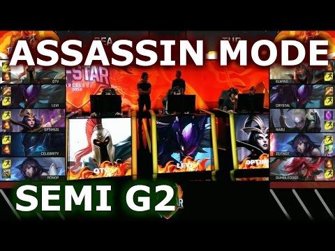 Turkey vs SEA Game 2 Assassin Mode   Semi Finals 2016 LoL IWC All-Stars Day 4   Fire vs ICE
