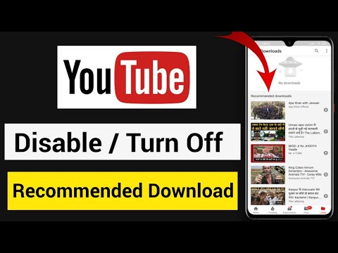 Download Recommended Download Ko Kaise Hataye | How To Delete Recommended Download Video From YouTube