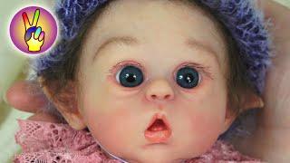 КУКЛА РЕБОРН (Reborn doll) МИНИ ЭЛЬФ! Распаковка реборна, обзор куклы реборн!  Victoria Play