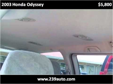 2003 Honda Odyssey Used Cars W. Portsmouth OH