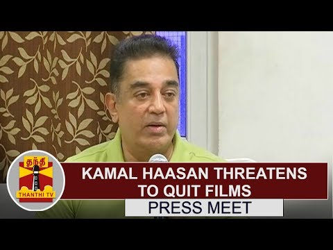 Kamal Haasan Threatens To Quit Films, Says GST Rate Will Ruin Cinema | Full Speech