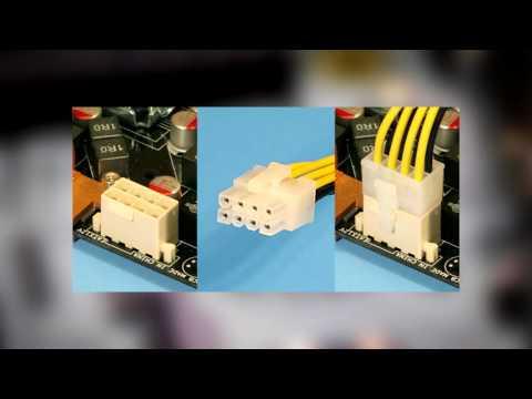 Питание видеокарты и переходники Molex 6 Pin PCIE и Molex 8 Pin PCIE