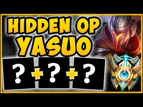 BOOST YOUR MMR BEFORE SEASON 9! THE YASUO BUILD SEASON 9 CHALLENGERS ARE ABUSING! League of Legends