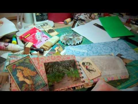 Tropical Travelogue Mini Scrapbook