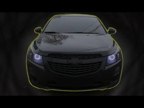Покраска решетки и эмблемы в черный глянец   Chevrolet cruze   #2