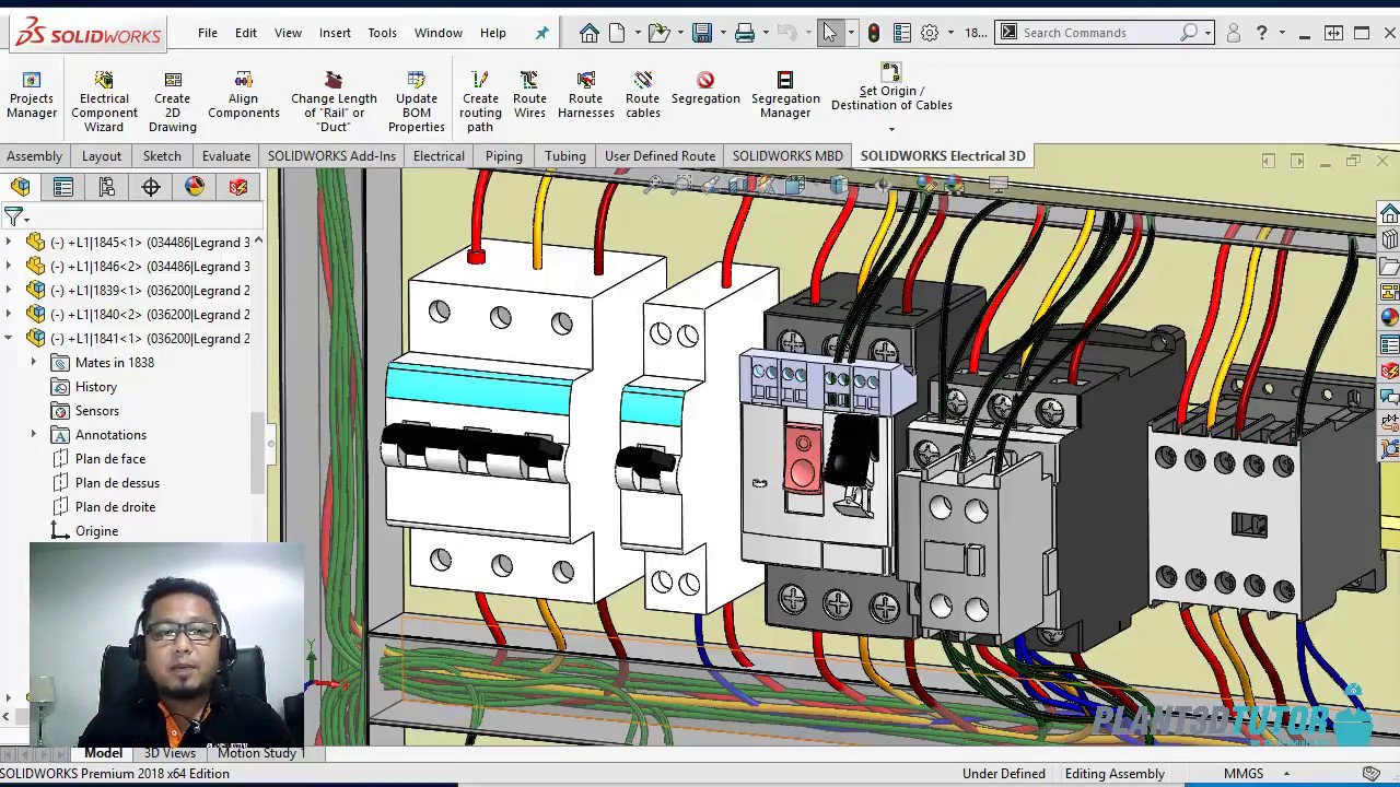 Live Demo Solidworks Electrical 2018 Control Diagram