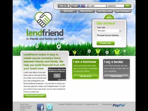 LendFriend Overview