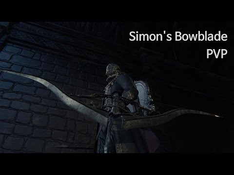 simon s bowblade madaras whistle pvp bloodborne dlc youtube