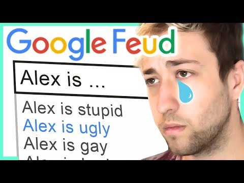GOOGLE IS MEAN!! - Google Feud