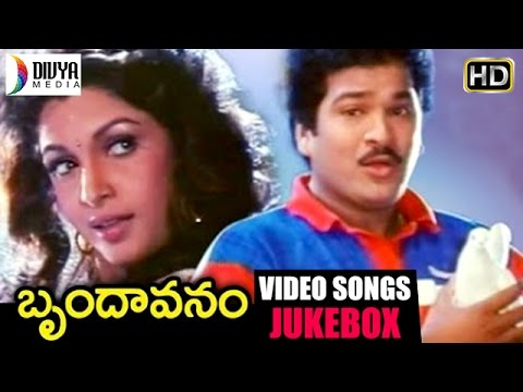 Brundavanam Telugu Movie | Full Video Songs Jukebox | Rajendra Prasad | Ramya Krishna | Divya Media