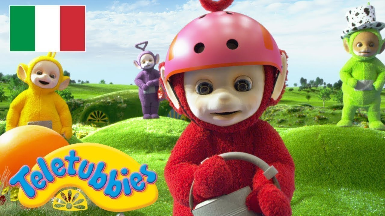Teletubbies dipsy peluche parlante versione inglese cm