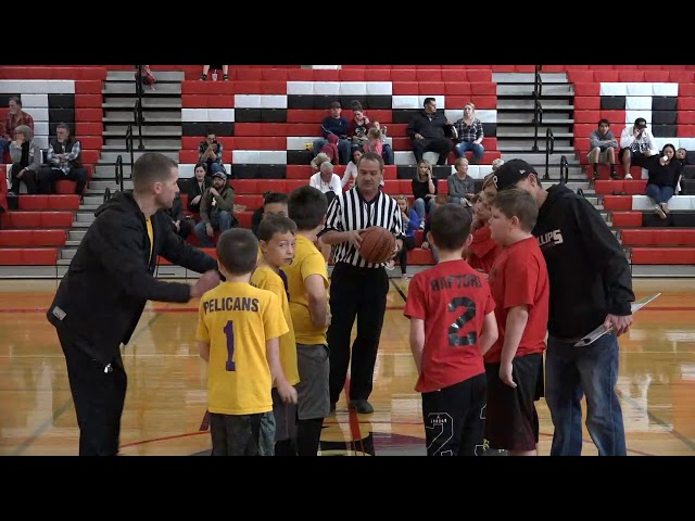 Cottonwood Power Division 1 Youth Basketball: Pelican vs Raptors