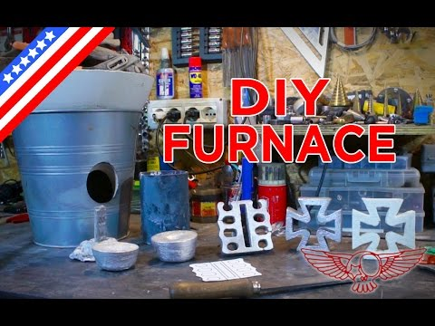 DIY Metal Foundry Project Tutorial - How to make a homemade foundry - ep 31 p1 - Roma Custom Bike