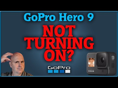 GoPro Hero 9 Not Turning On!