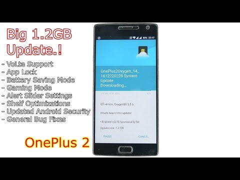 OnePlus 2: Official VoLte Update + App Locker + Lots More New Features.!