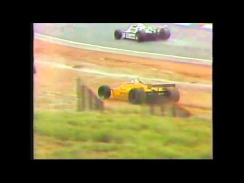 South Africa gp 1981 formula 1stripped of championship start & 2 laps by magistar