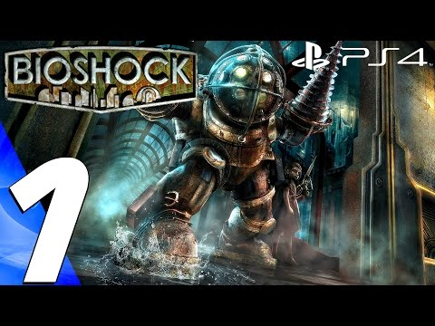 BioShock Remastered (PS4) - Gameplay Walkthrough Part 1 - Prologue (Full Game) 1080P 60FPS