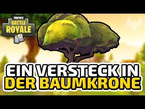 Ein Versteck in der Baumkrone - ♠ Fortnite Battle Royale ♠ - Deutsch German - Dhalucard