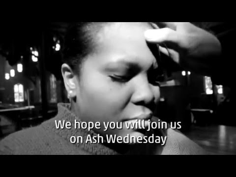 Ash Wednesday Invitation