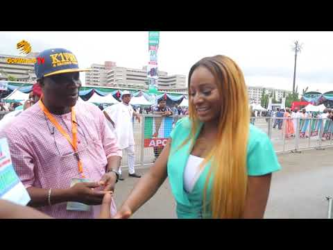 K1 DE ULTIMATE SPECIAL MOMENT AT APC NATIONAL CONVENTION IN ABUJA
