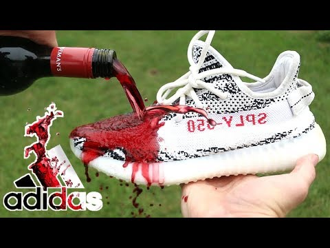 82af62cba MAKING THE ADIDAS YEEZY BOOST V2 RED WINE!! - YouTube