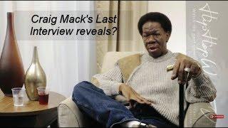 Craig Mack's last live interview