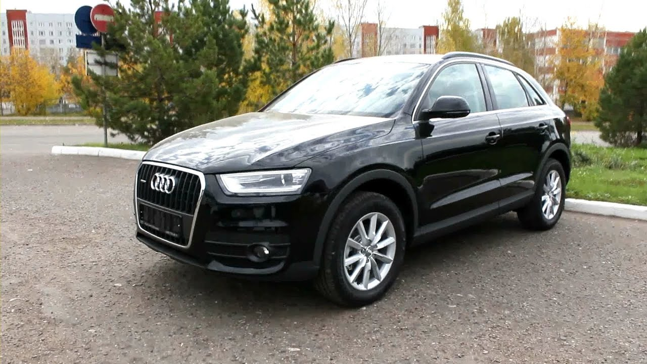 2012 audi q3 start up engine and in depth tour youtube. Black Bedroom Furniture Sets. Home Design Ideas