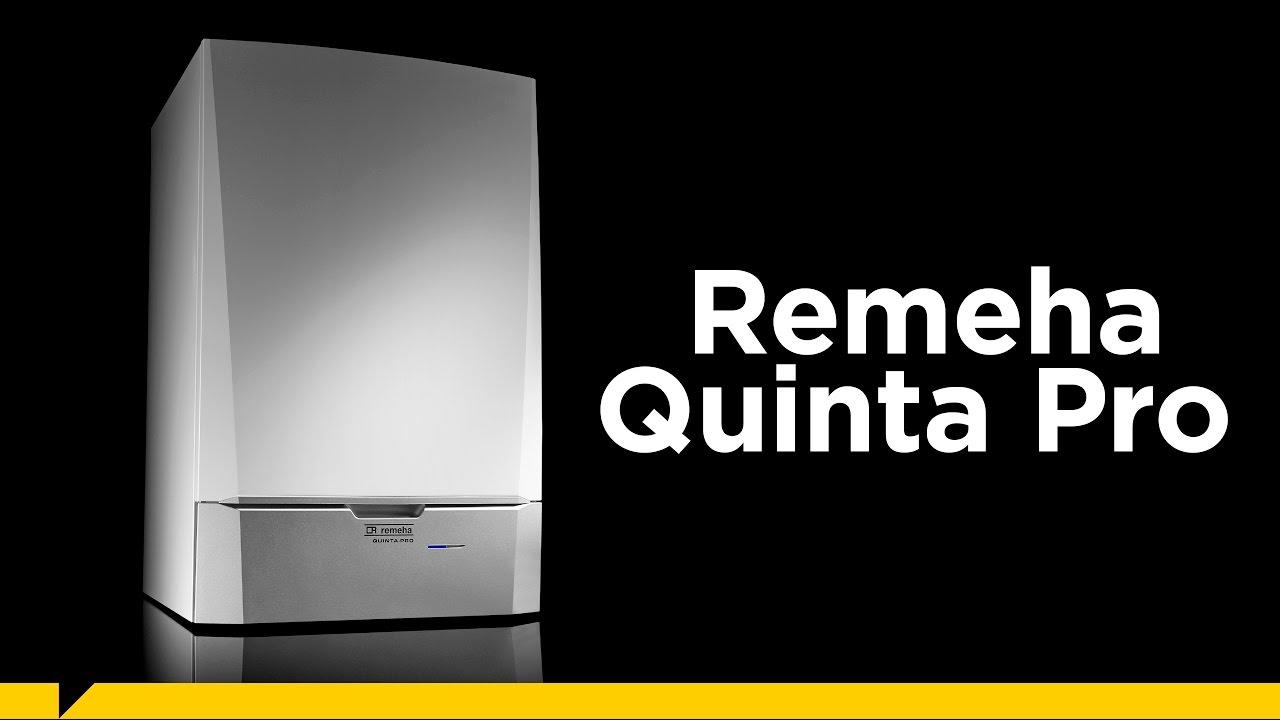 e9342c1b23a Remeha Quinta Pro cv-ketel - een surplus aan vermogen! - YouTube