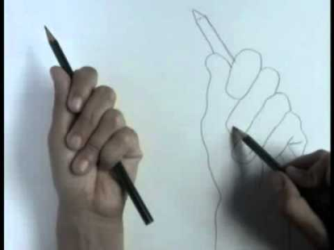 Contour Line Drawing Of A Person : Contour line drawing tutorial youtube