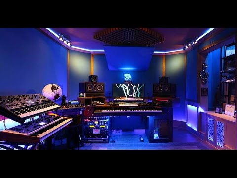 Sean Christopher's new 2017 home studio in Hidden Springs near Boise, Idaho.  See the LED light show