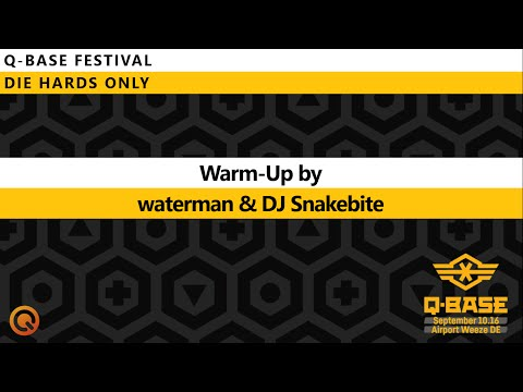 Q-BASE 2016 Warm-Up Mix by waterman & DJ Snakebite