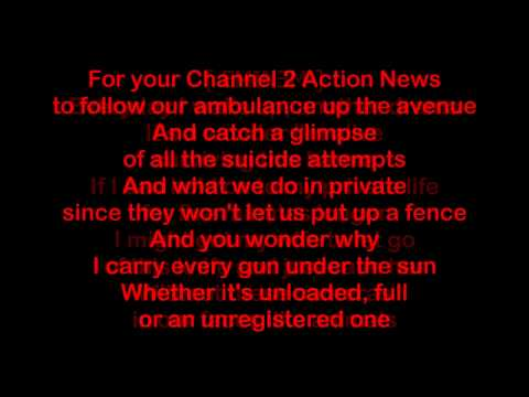 Eminem Don't Approach Me Ft. Xzibit Lyrics