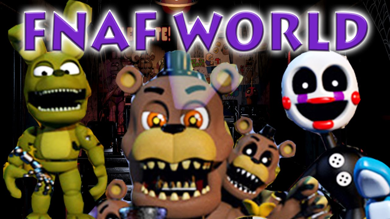 Magical place adventure puppet plushtrap n freddy p bb