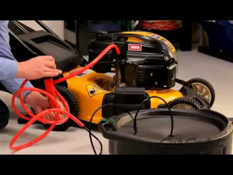 How To Change The Oil On A Cub Cadet Walk Behind Lawn