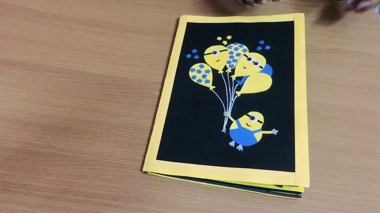 Wonderful Birthday Greeting Cards For Friends Minion Birthday Greeting Card