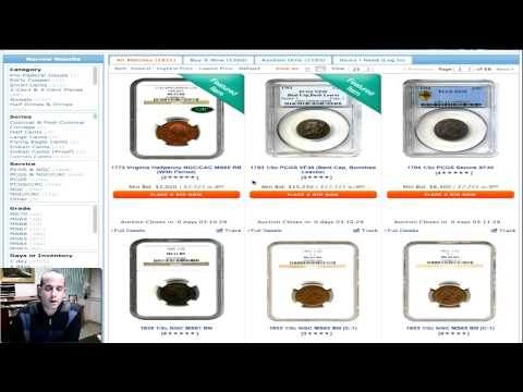 Enhanced Search On David Lawrence Rare Coins Web Site