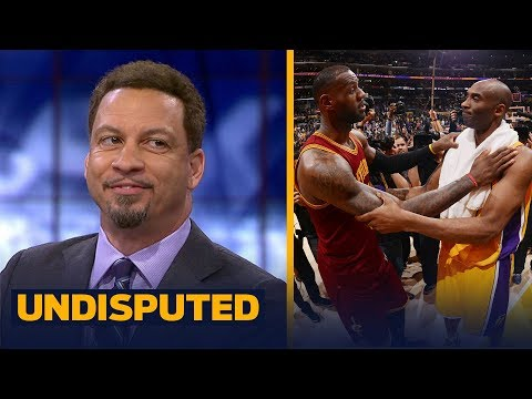 Chris Broussard's reaction to Kobe questioning LeBron's leadership | NBA | UNDISPUTED