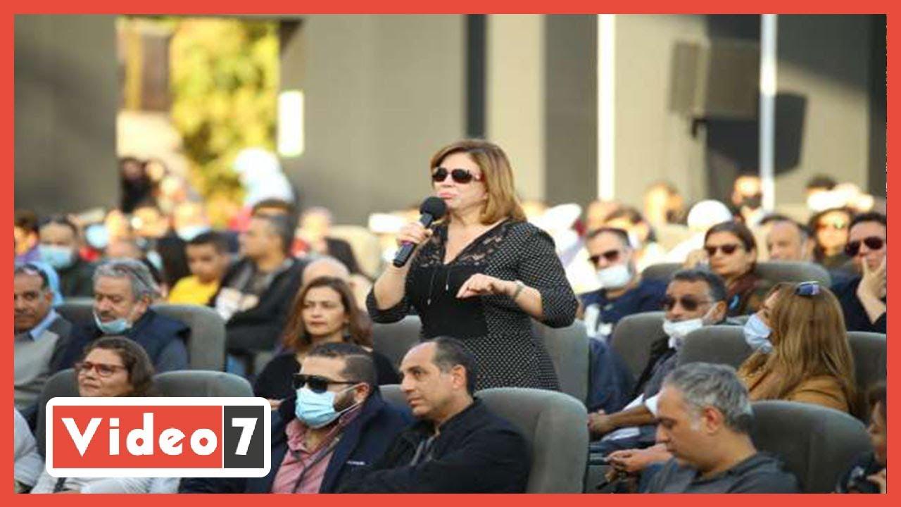 إلهام شاهين- وحيد حامد كان بيدعمنى وقت الإخوان وسبب ظهورى للفن