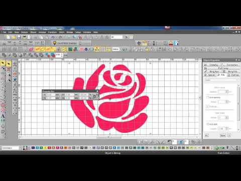 Import a graphic into EmbroideryStudio