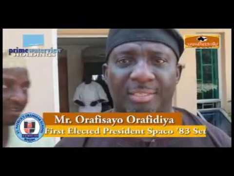 Spaco '83 Honour Mr. Kayode Morenikeji Oluwasona