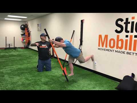 Single-Leg RDLs Made Better Level 1 - Stick Mobility Exercise
